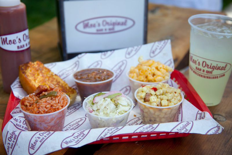 A sampling of classic sides (photo courtesy of Moe's)