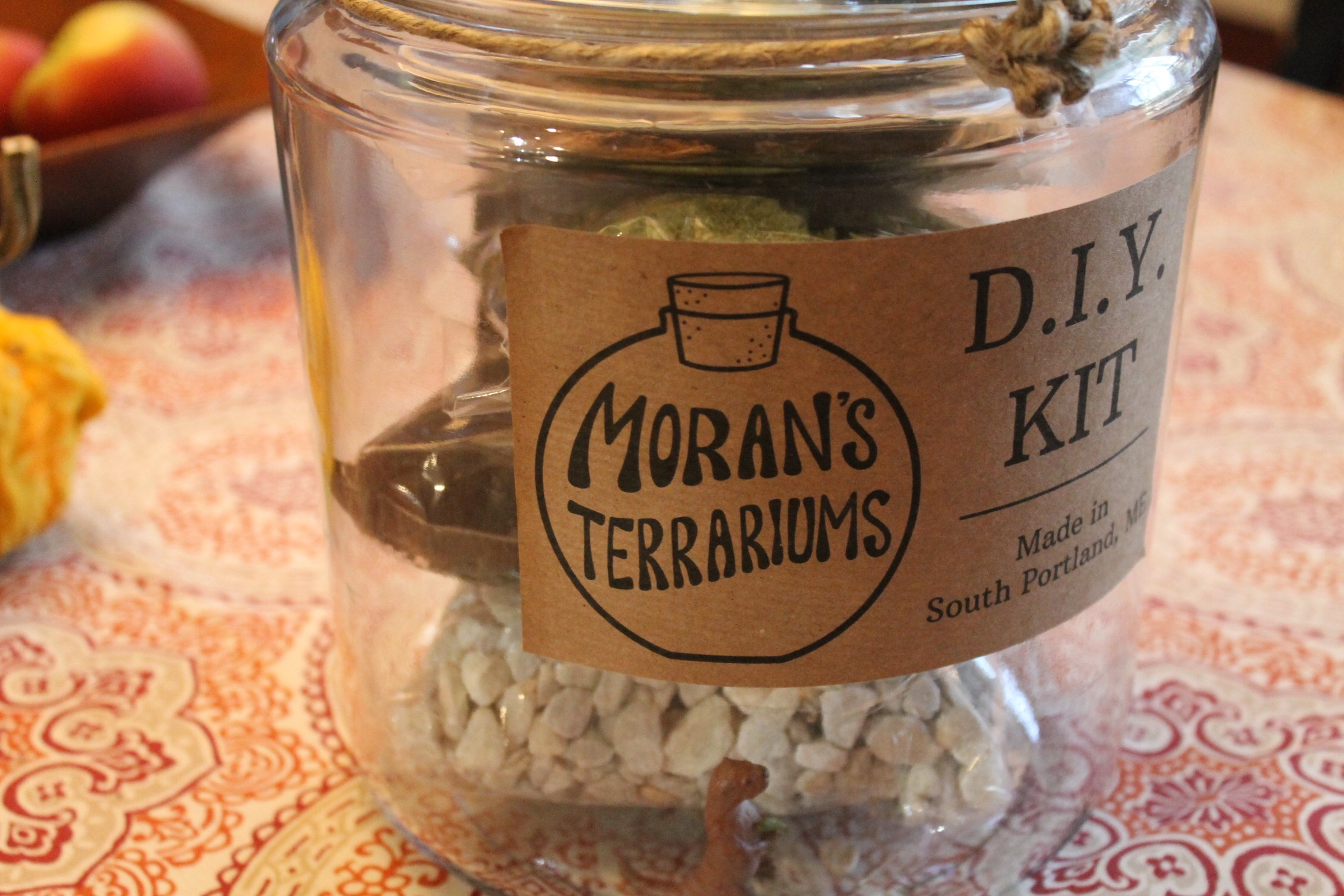 Illustrator Hannah Rosengren designed the labels for the jars.