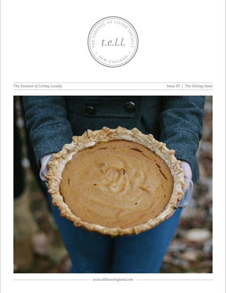 TELL New England (The Giving Issue)